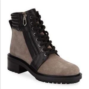NWB Botkier New York combat boots size 9.5